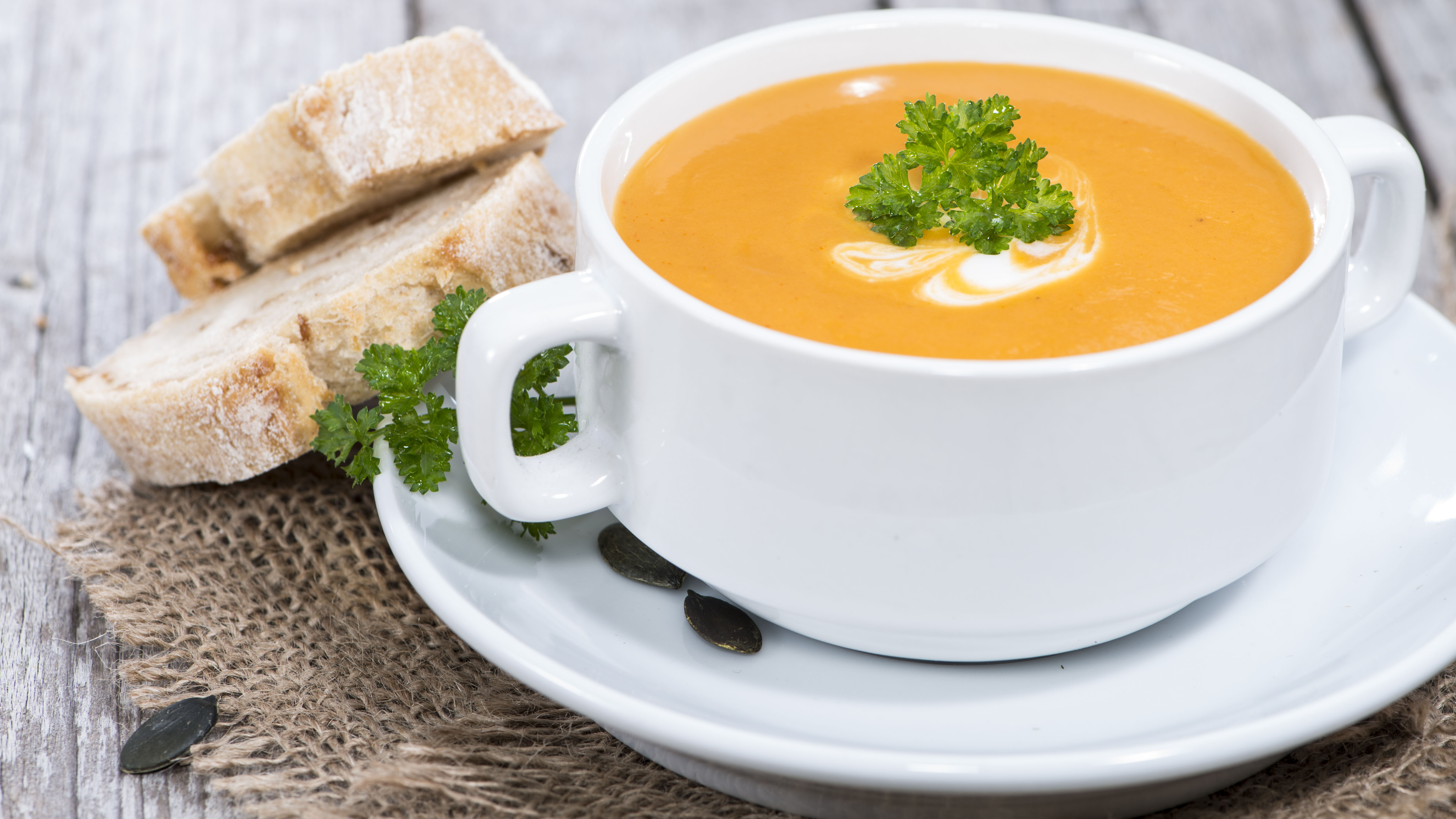 The best pumpkin soup recipe ever