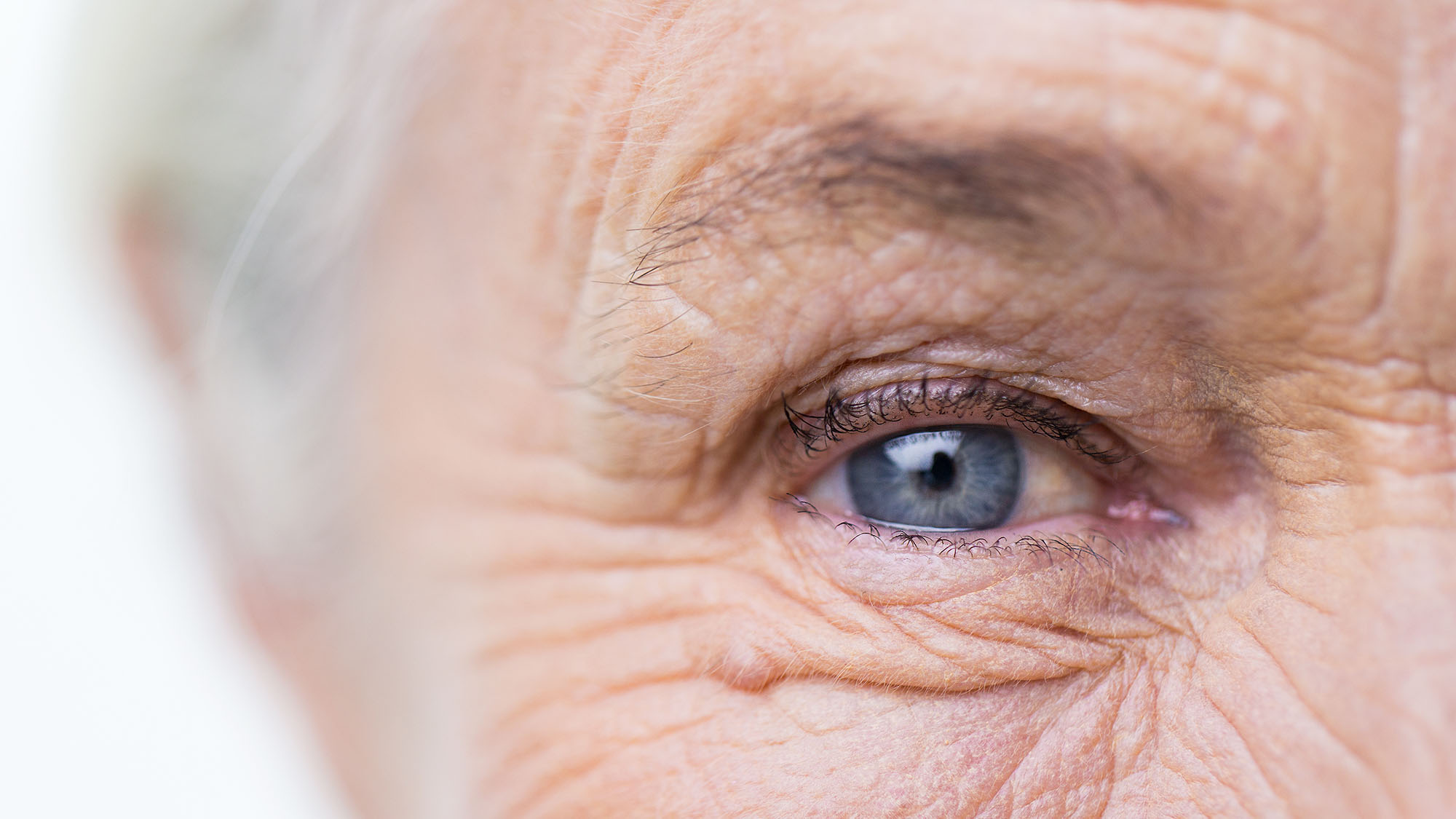 Your eyes change colour as you age
