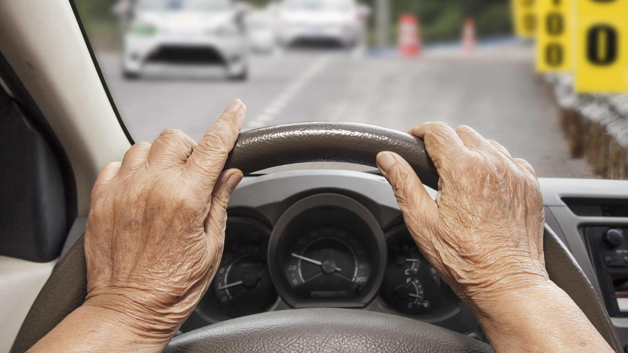 Does ageing make one more dangerous behind the wheel?