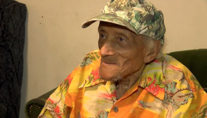 112-year-old reveals the secret to a long life