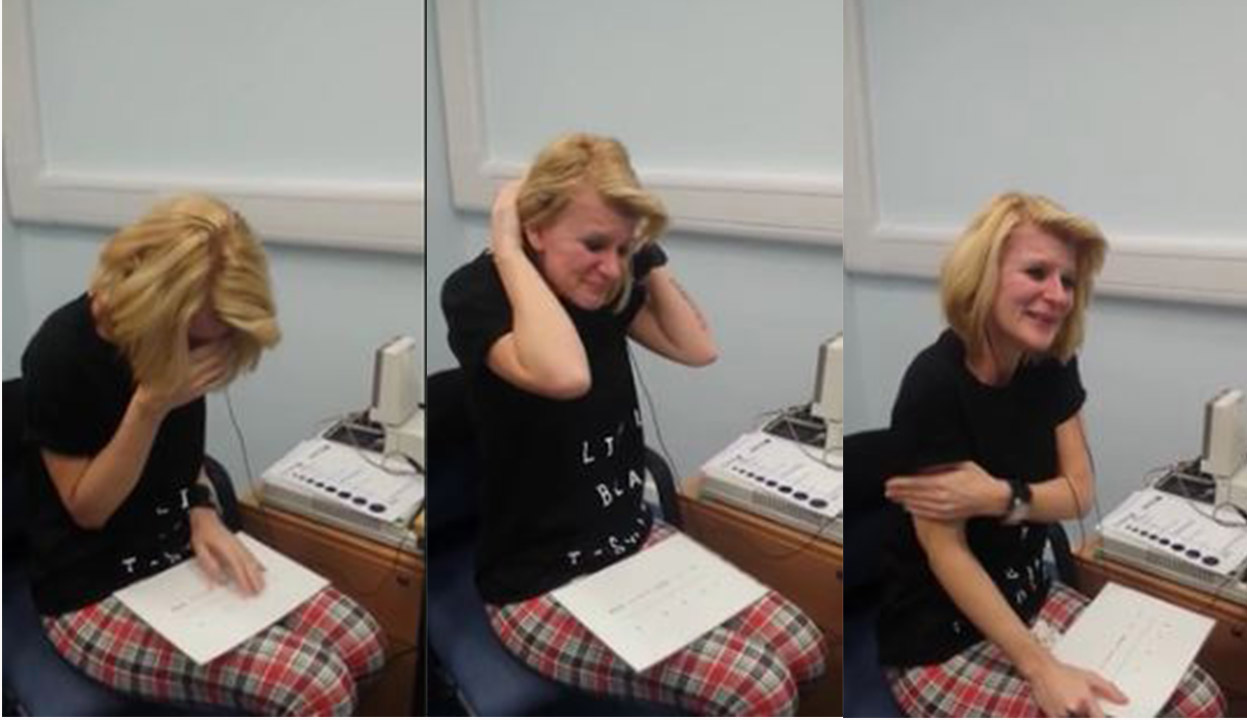Deaf woman gets cochlear implants as she's going blind
