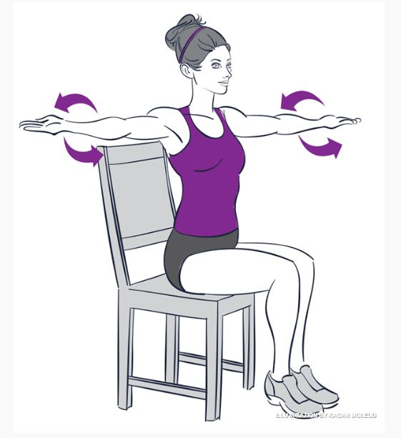 5 Exercises That You Can Do Sitting Down