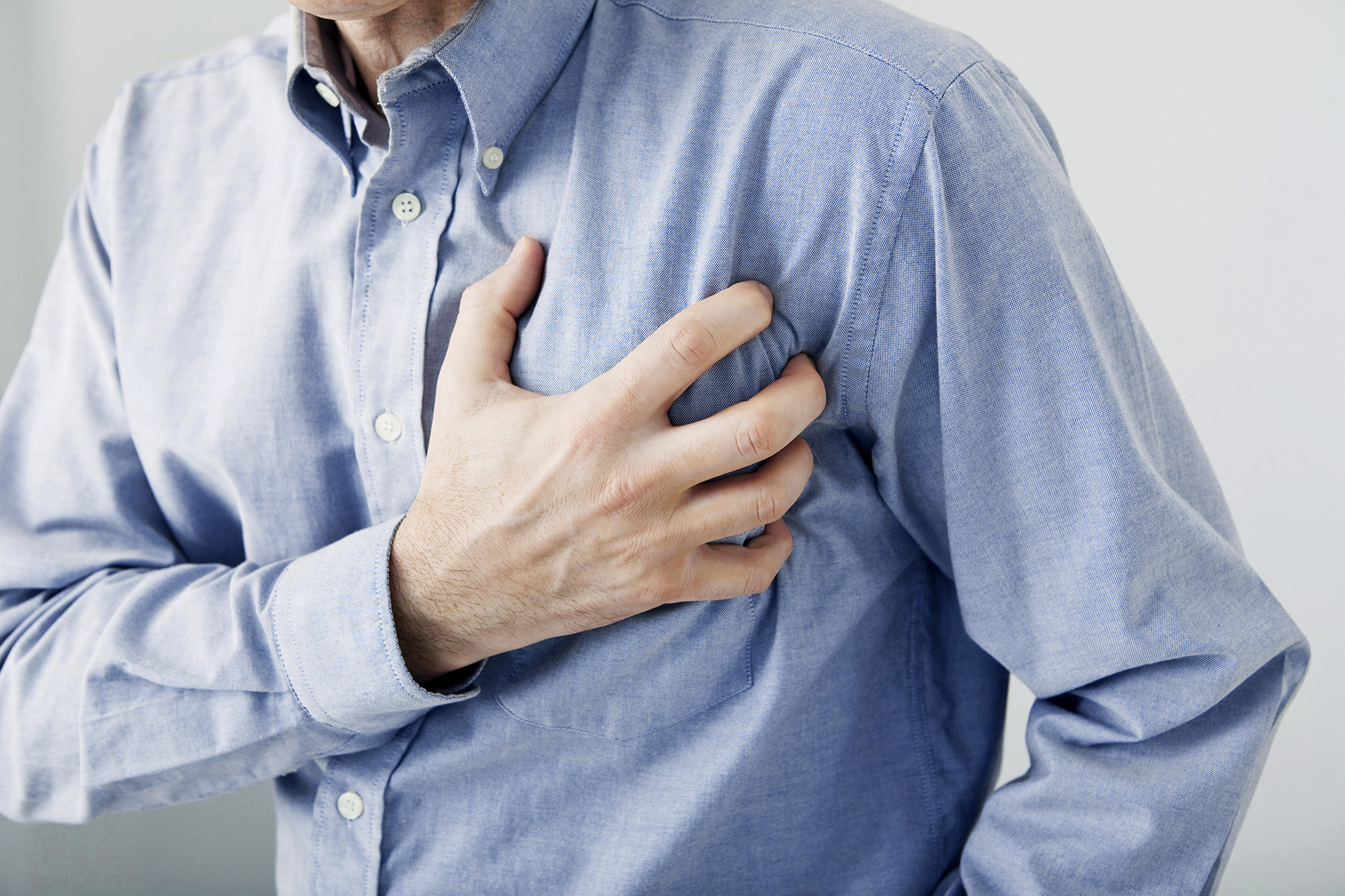 6 signs you could be at risk of a heart attack