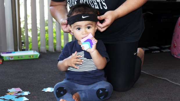 1-year-old boy's family raising money to help his hearing