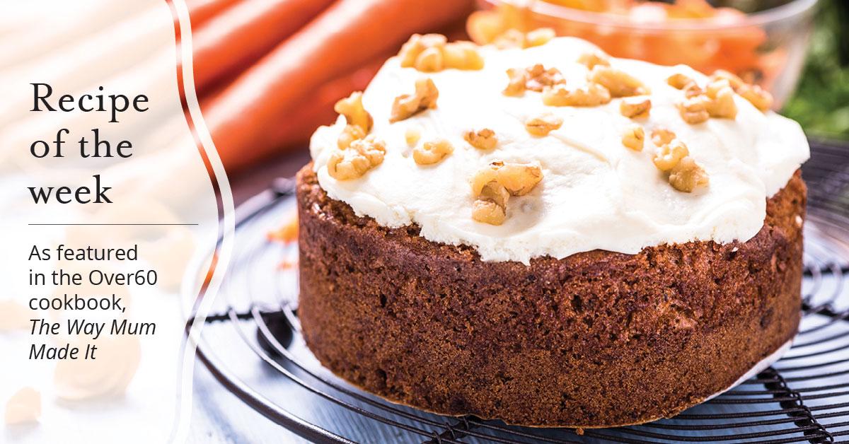 Carmel's carrot cake