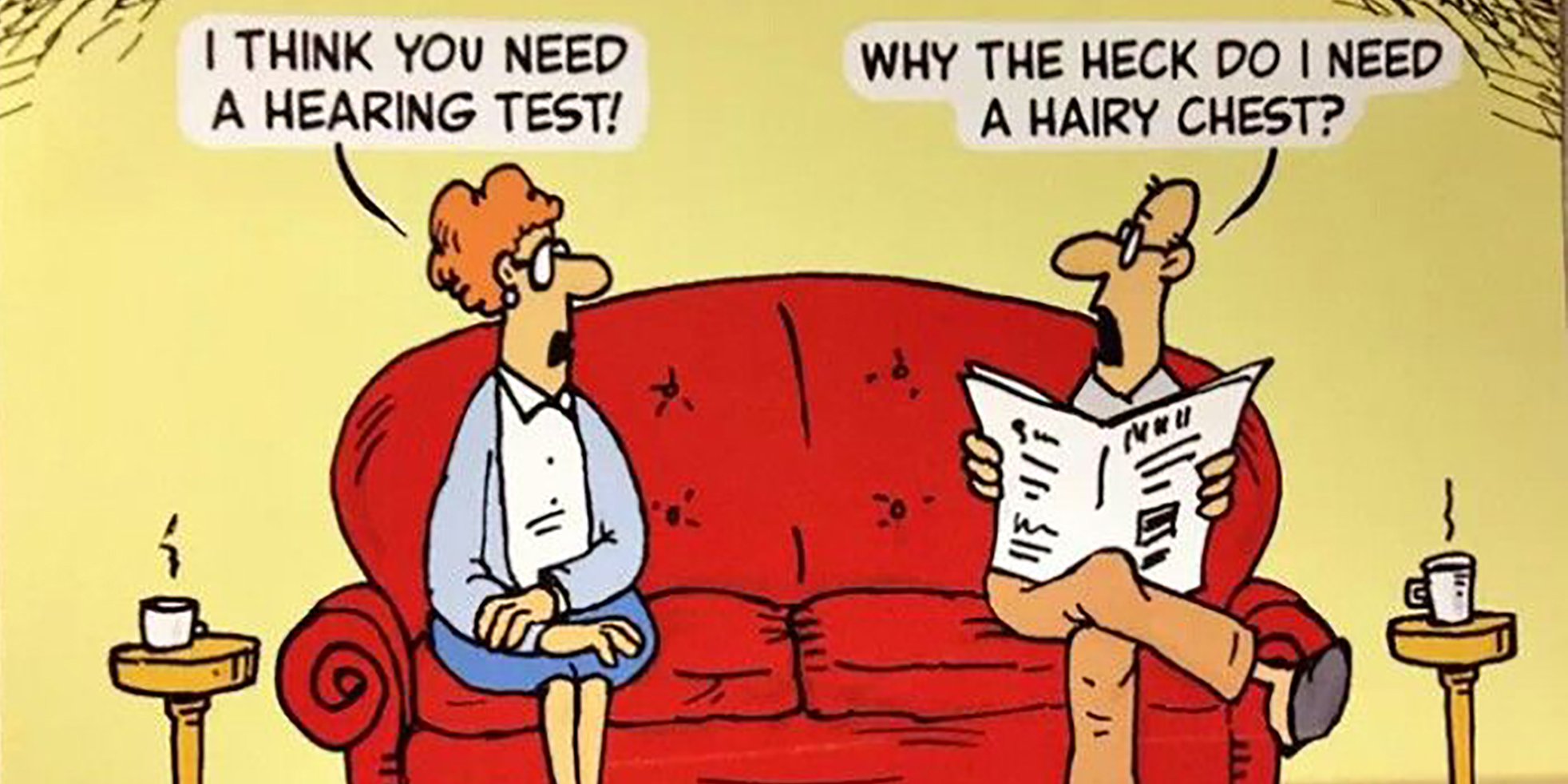 In pictures: 11 funny jokes about hearing
