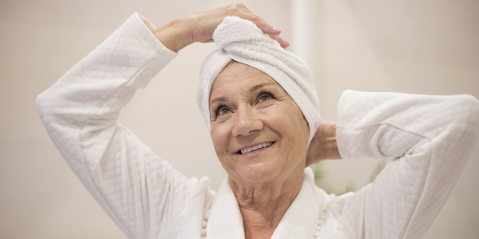 The trick to washing hair more effectively