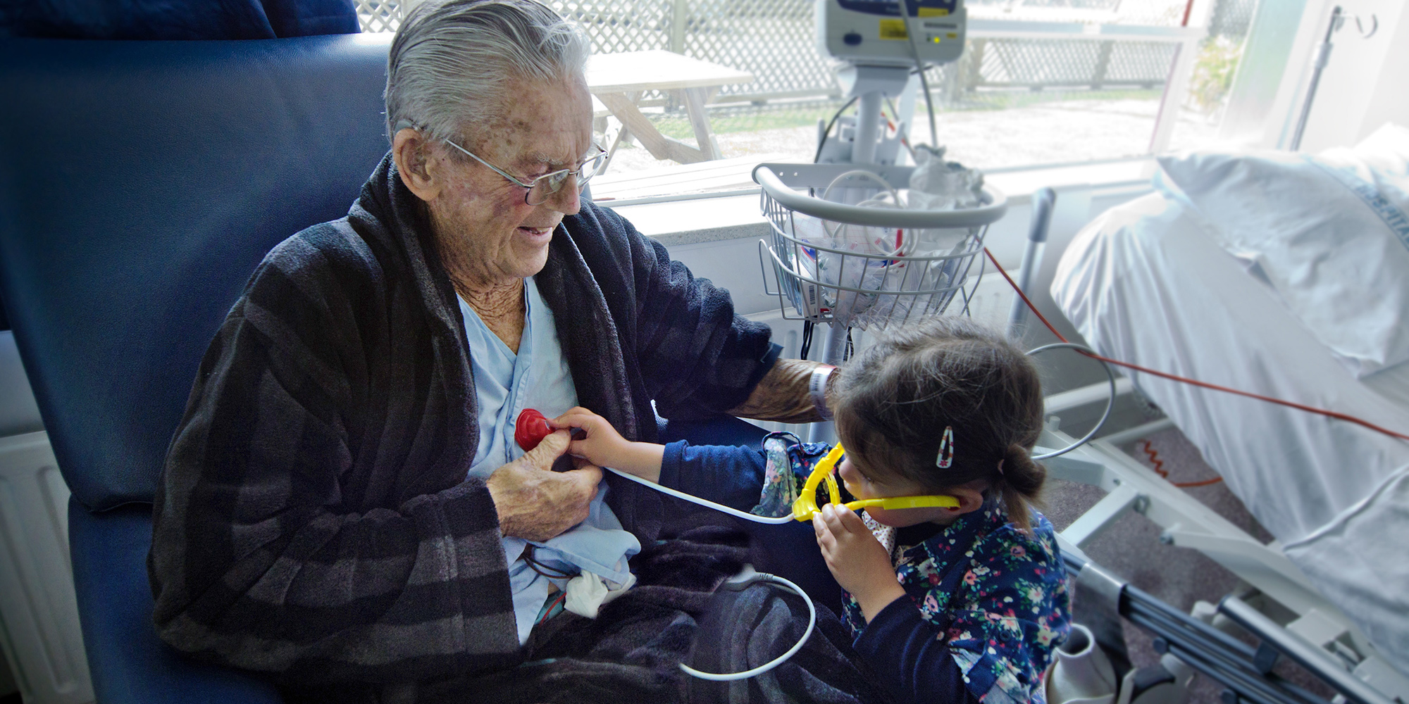 Importance of programs connecting aged care patients and children