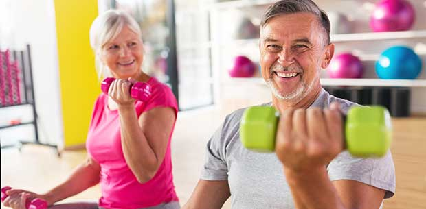 The exercises you need to do to stay fit over 60