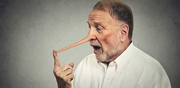 Our brains adapt to telling lies