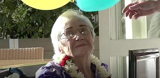 Great-grandma finishes degree after 50-year break