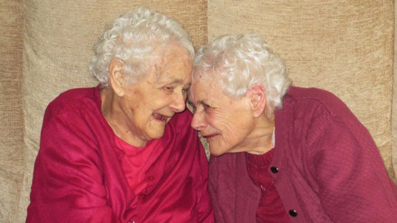 World's oldest twins are still close as ever at 103