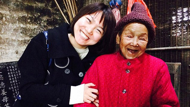 A community adopts a 90-year-old woman with no family