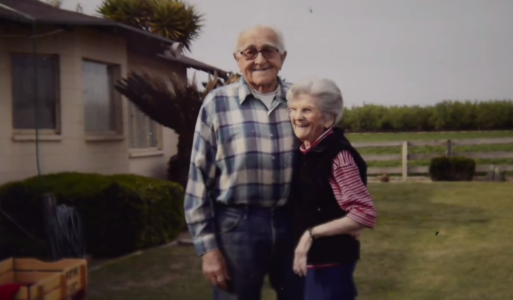 Couple married for 67 years die together holding hands
