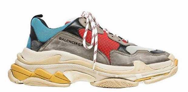 designer sneakers look exactly