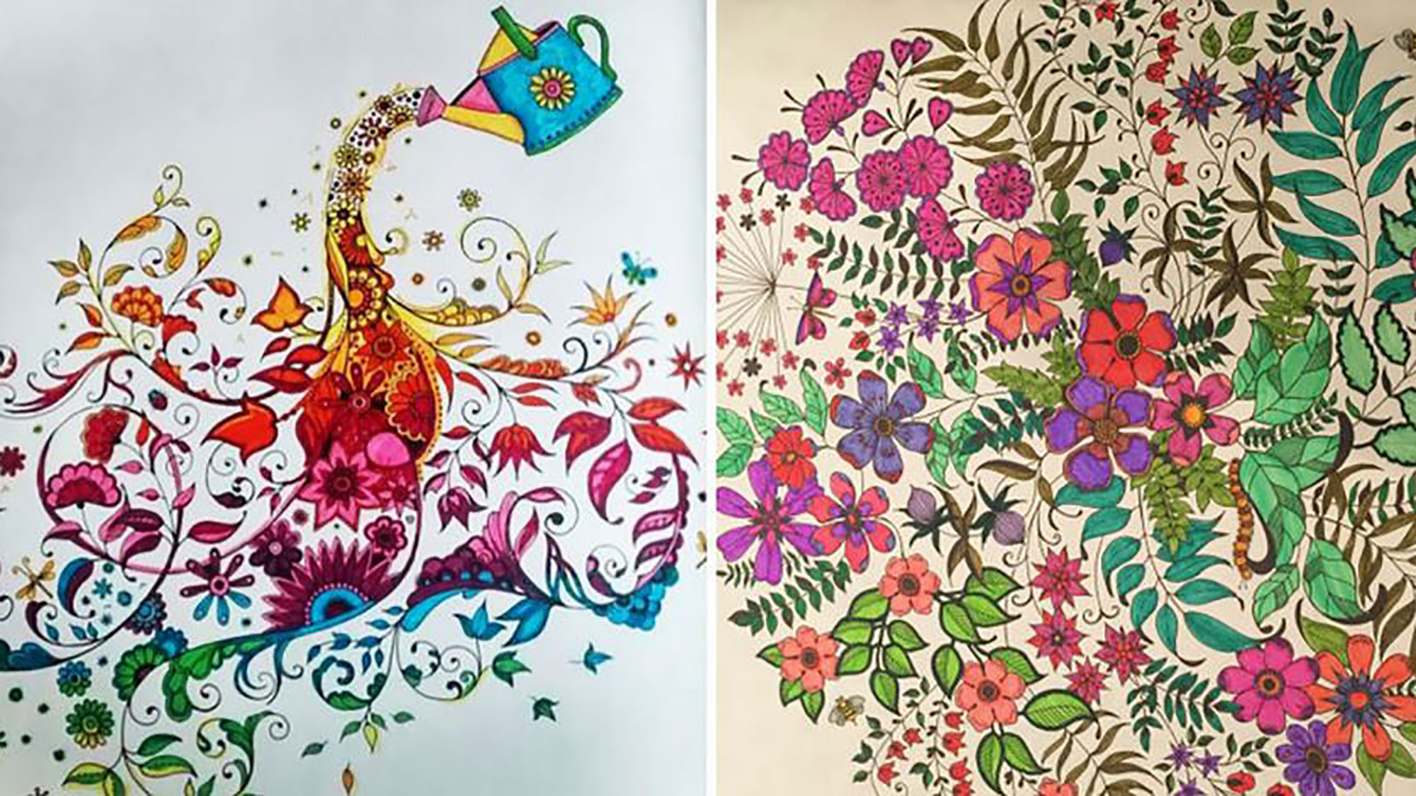 Colouring books for adults? They're selling like hotcakes