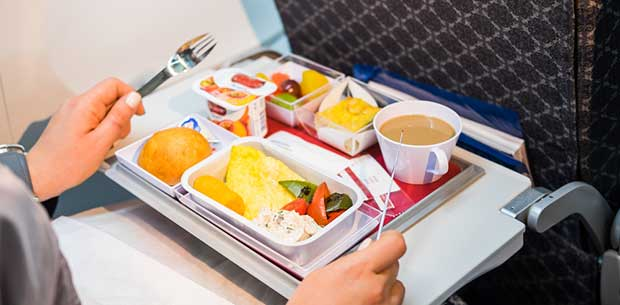 Revealed: The only two meals you should ever order on a plane