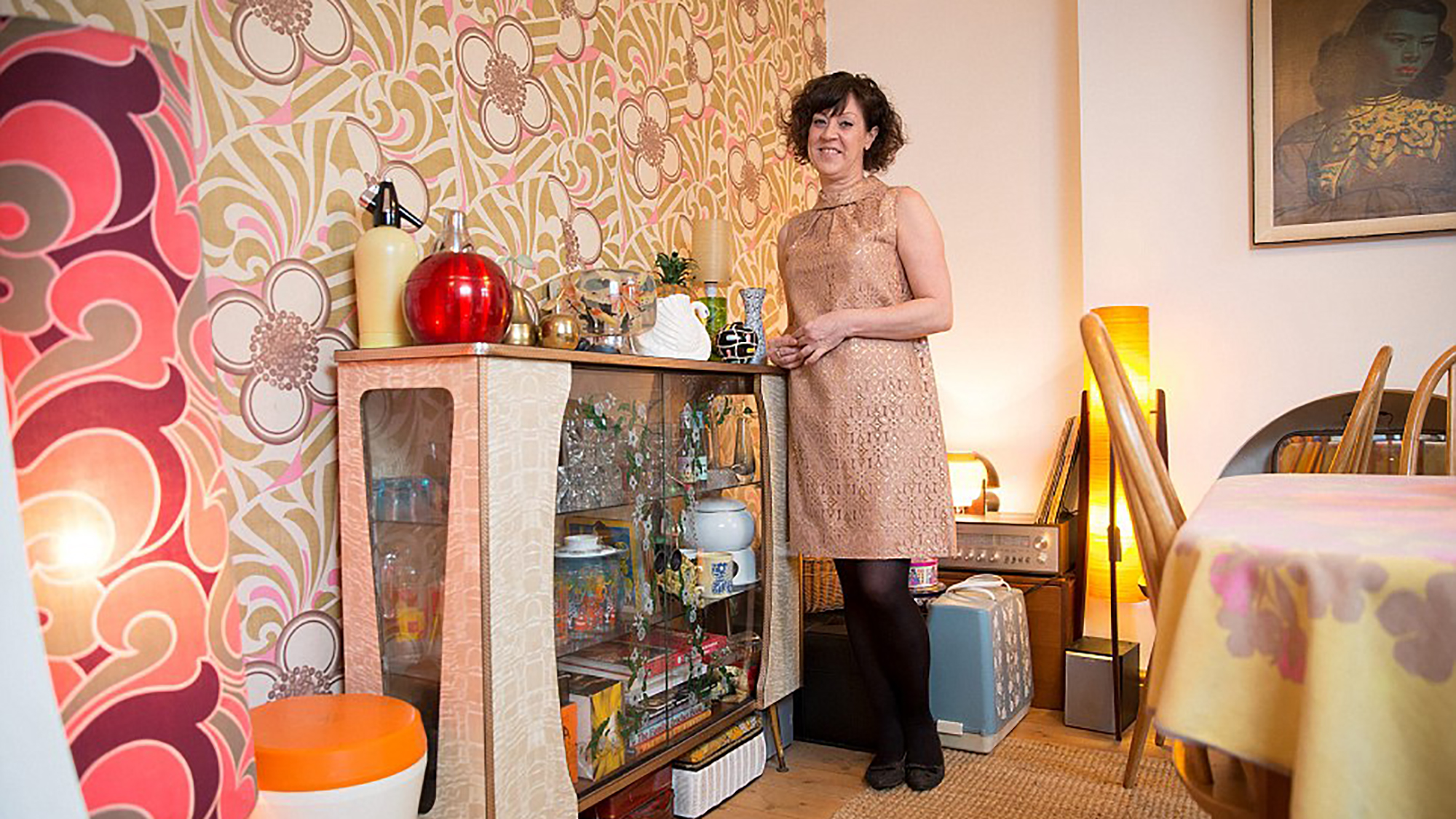 Meet the women who've turned their homes into shrines to their favourite decade