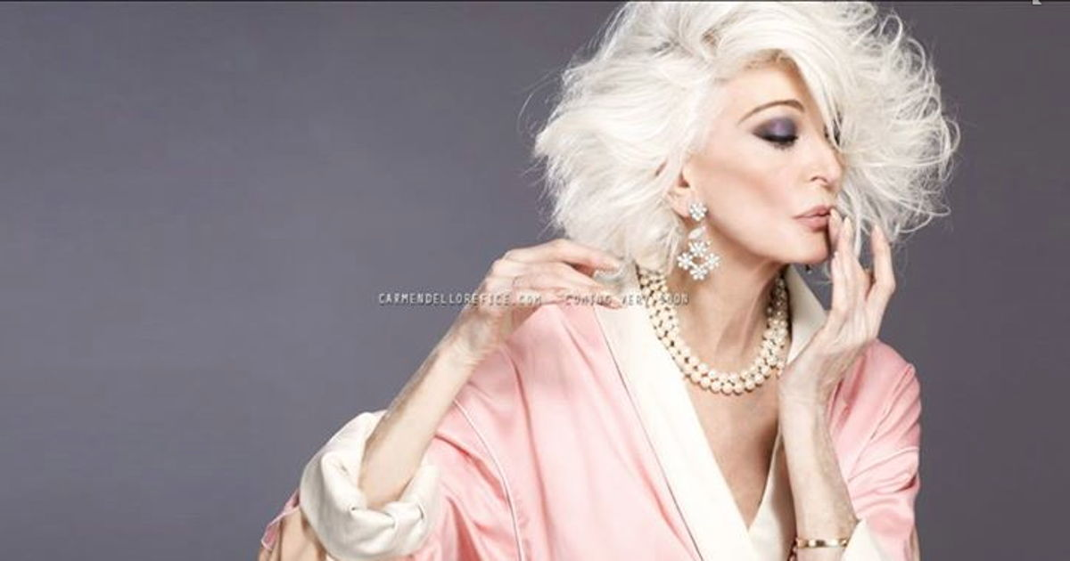 Meet the world's oldest working model. She's 83 and looks amazing.