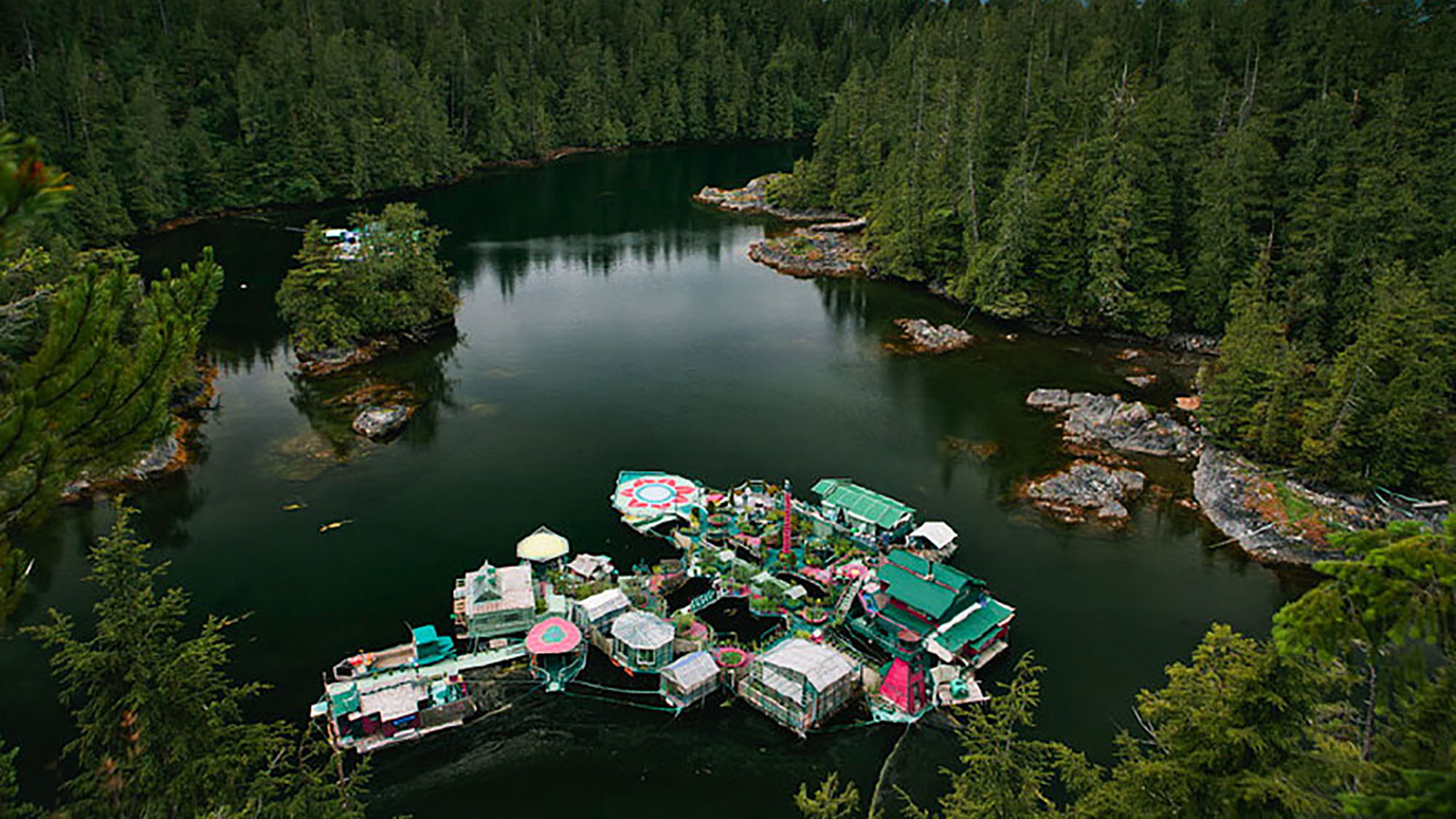 Meet the couple that live on a floating island (that they built!)