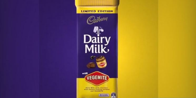 Cadbury announces new vegemite chocolate bar
