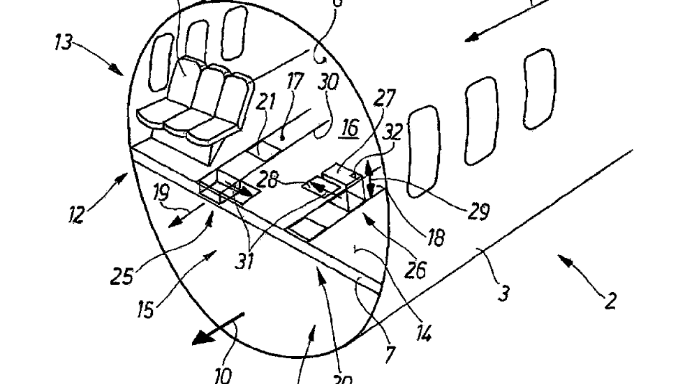 In-flight meals could soon be delivered by carousel at the touch of a button