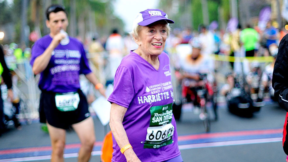 Meet the 92-year-old who just became the oldest woman to finish a marathon