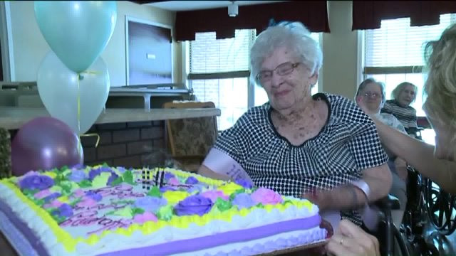 100-year-old woman says booze is her secret to a long life