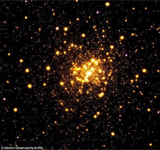 Scientists spot cluster of suns and capture amazing image