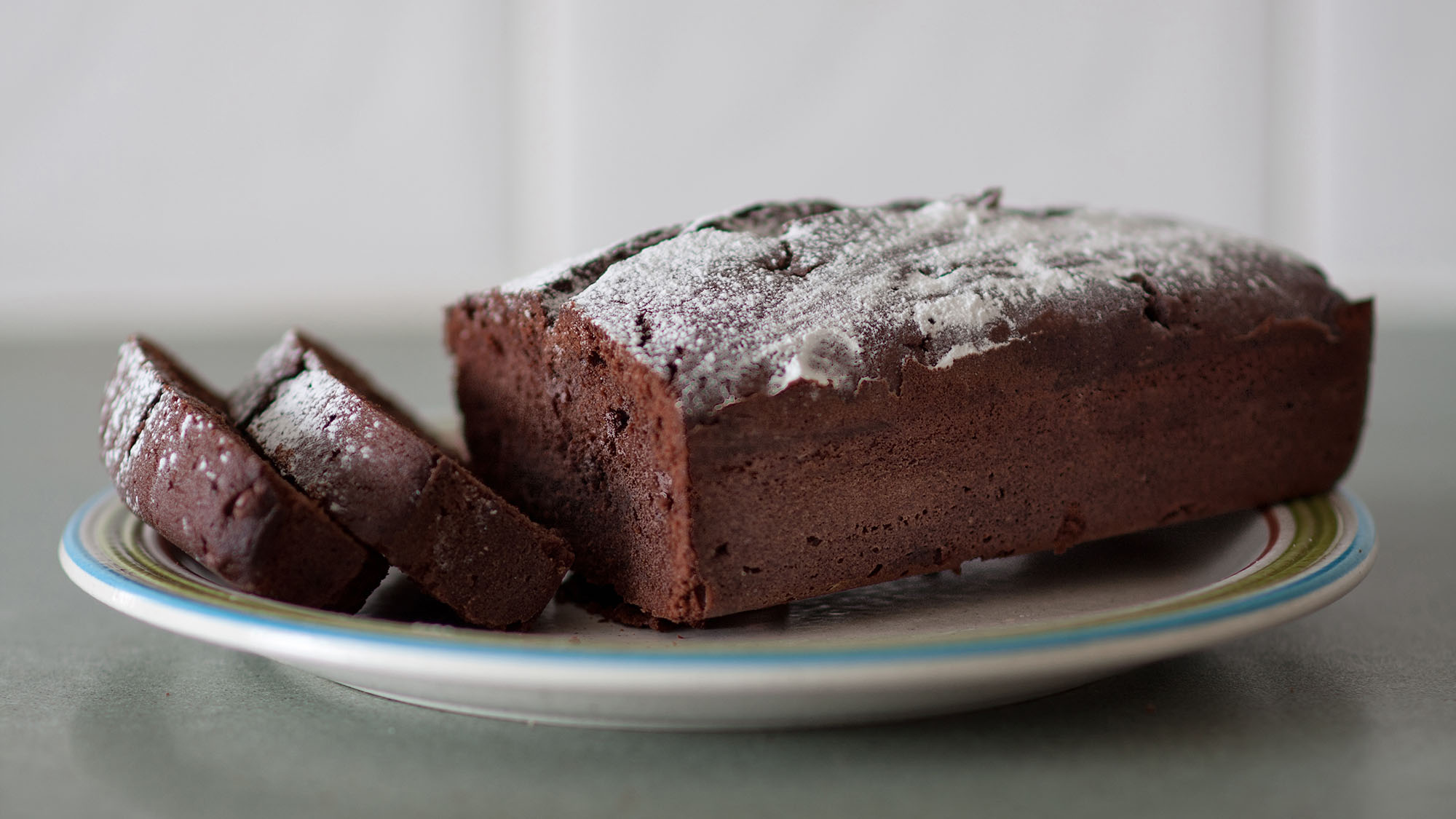Chocolate almond loaf