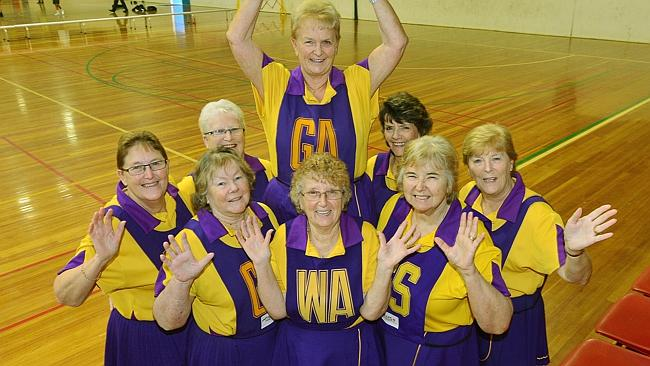 Glenroy grannies hang up netball bibs after four decades on the court