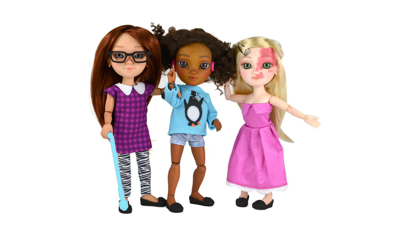 The world's first dolls with disabilities are flying off the shelves