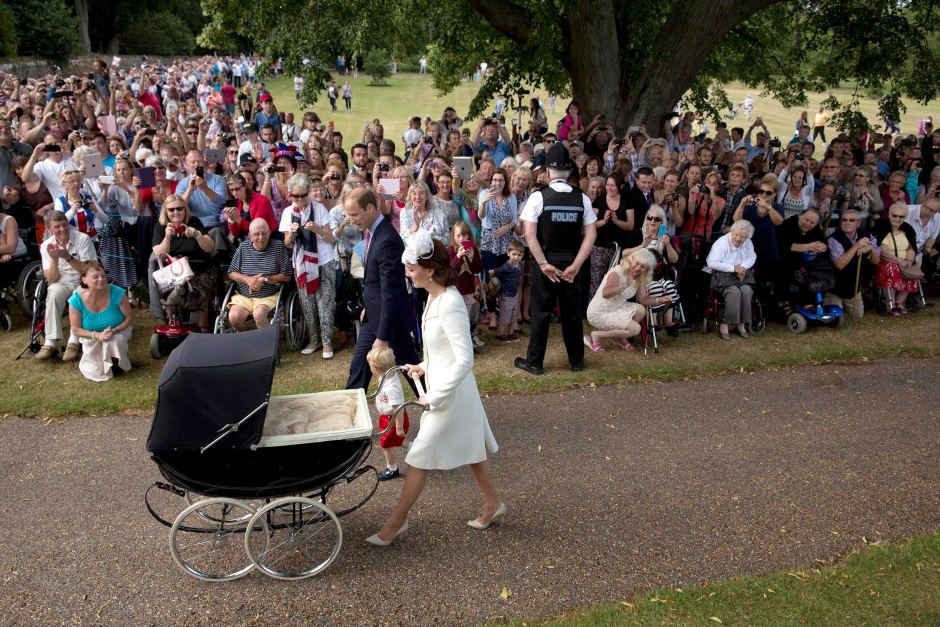 Princess Charlotte baptised in low-key ceremony