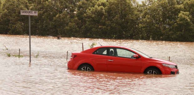 Do you know how to escape a flooding vehicle?