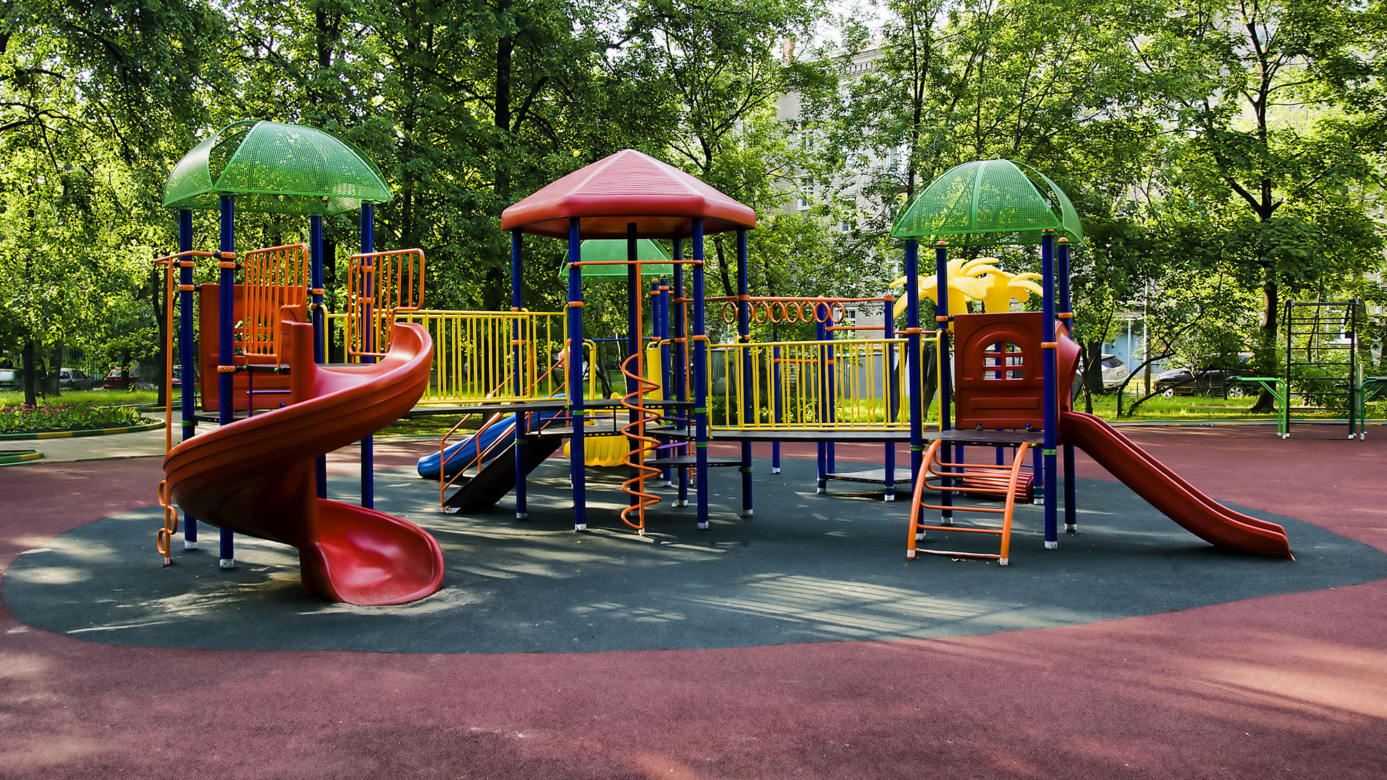 Does fencing playgrounds make them safer or does it encourage lazy parenting?