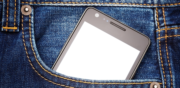 You should never carry your phone in your pocket