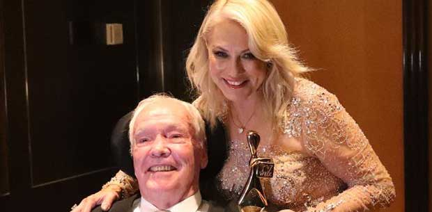 """Kerri-Anne Kennerley on caring for husband John: """"It's terribly challenging"""""""