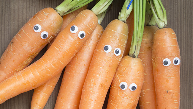 Can eating carrots actually improve your eyesight?