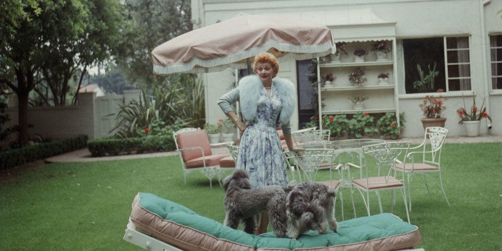 A rare glimpse into Lucille Ball's home