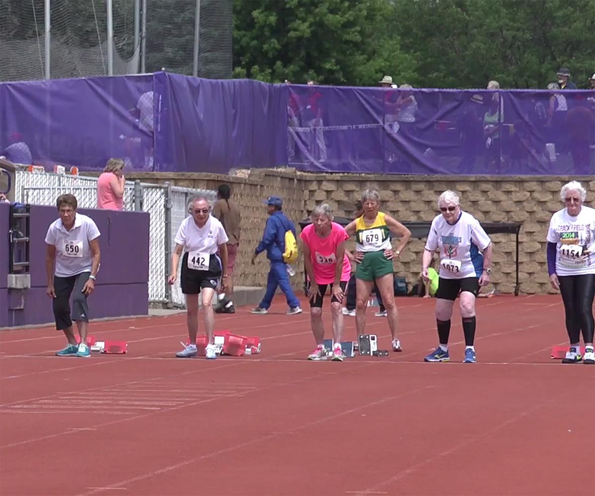 83-year-old woman beats breast cancer to become star athlete