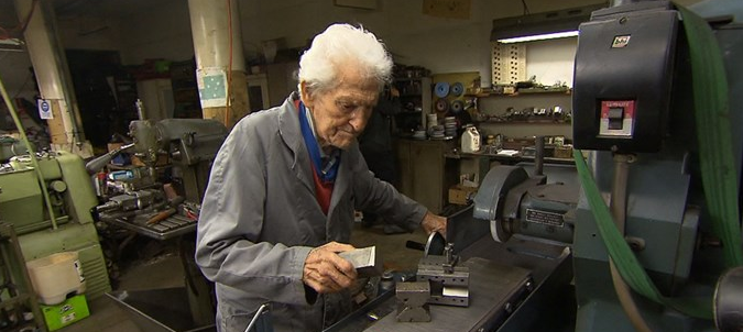 97-year-old man refuses to retire