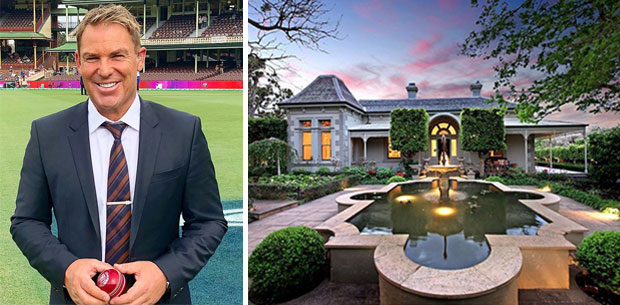 Inside Shane Warne's $20 million Melbourne mansion