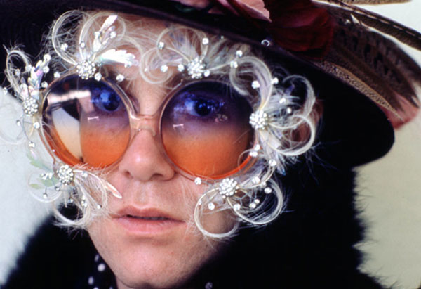 Elton John's glasses through the years | OverSixty