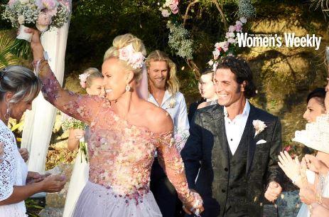 Lisa Curry And Mark Tabone S Magical Wedding Photos Oversixty