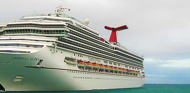 Cruise ship worker rescued 22 hours after falling overboard