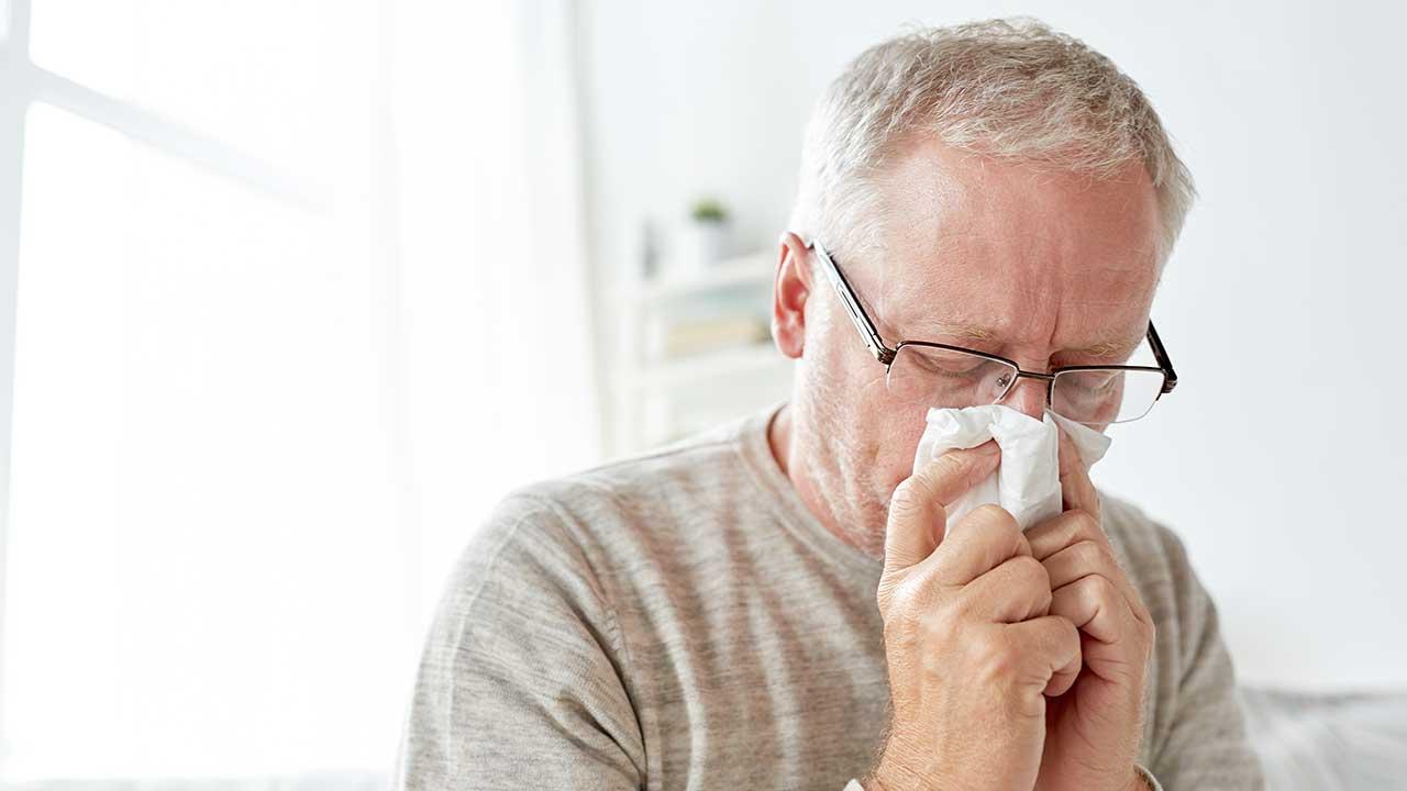 Why do we get nose bleeds? | OverSixty