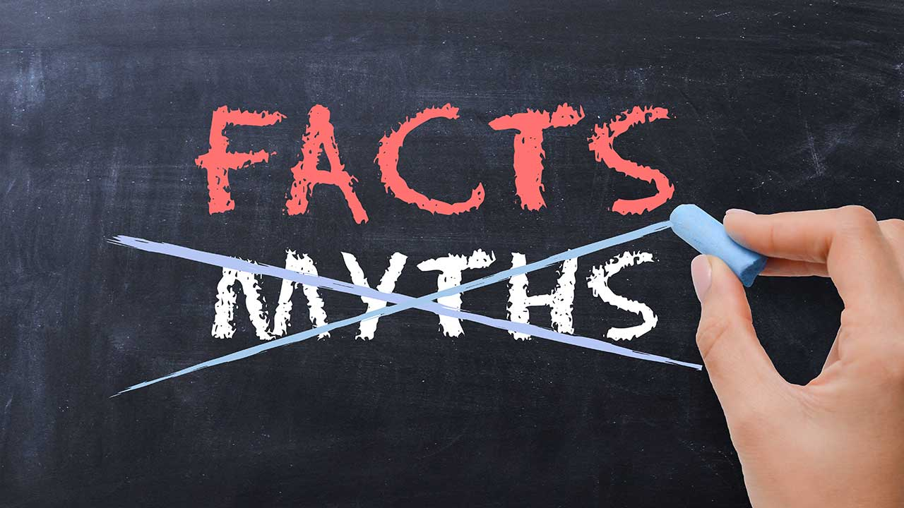 15 enduring myths about life today debunked