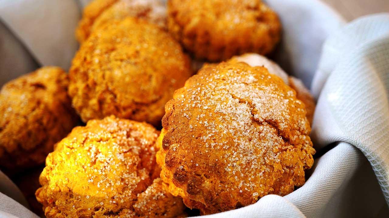 Sweet potato scones