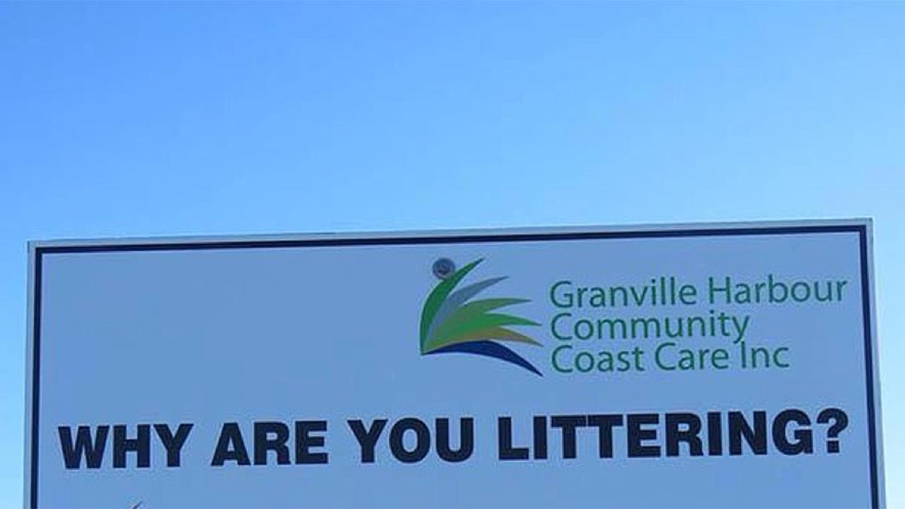 Hilarious Aussie sign shaming litterbugs goes viral