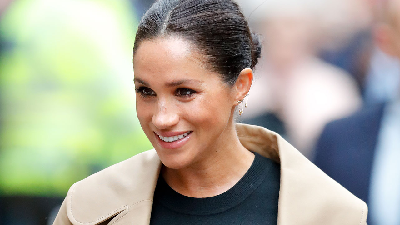 Pregnant Duchess Meghan returns to work with growing bump